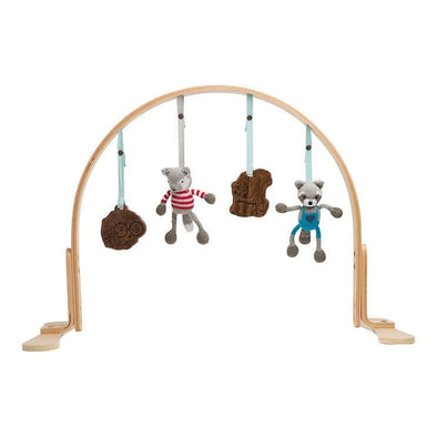 Woodland Play Gym Light Wood