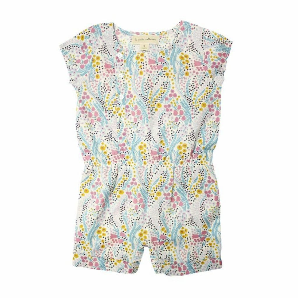 dfcee40ca Poppys Collection Summer Liberty Romper