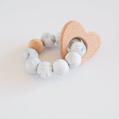 Heart Ring Teether