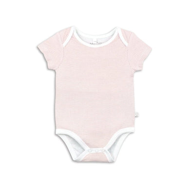 Baby Blush Stripe Short Sleeve Bodysuit