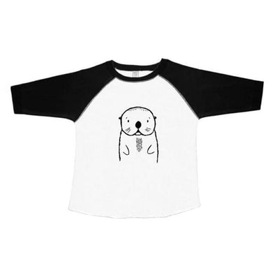 Oslo the Otter Baseball Shirt