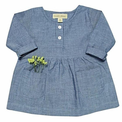 Marine Chambray Dress