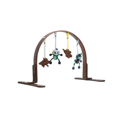 Robot Play Gym Dark Wood