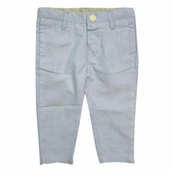 Chambray Chino Pants