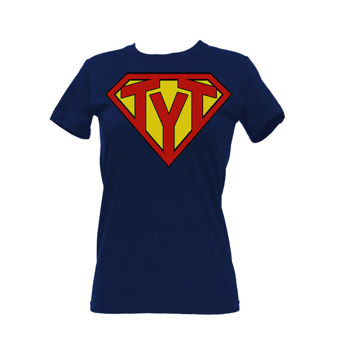 Super Hero T-shirt in Navy | Women's T-shirts | Shop TYT