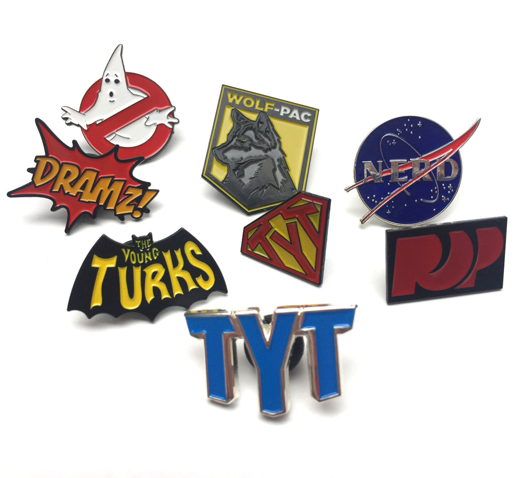 Complete Set of Lapel Pins