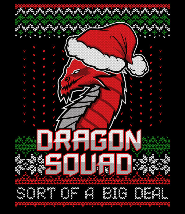 Dragon Squad Holiday Sweater