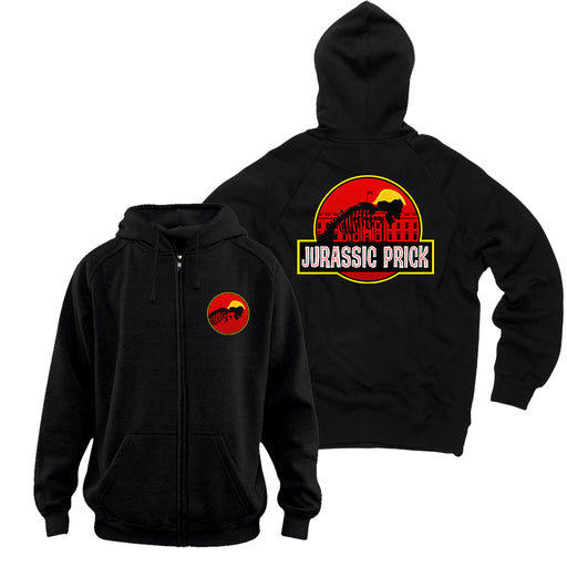 Jurassic Prick Zip Up Hoodie