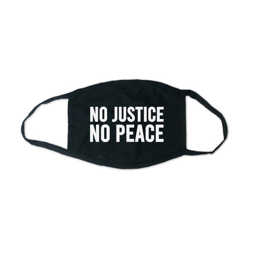 No Justice No Peace Face Mask