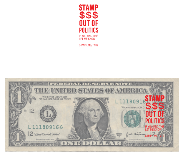 Stamp Money Out of Politics - Stamp
