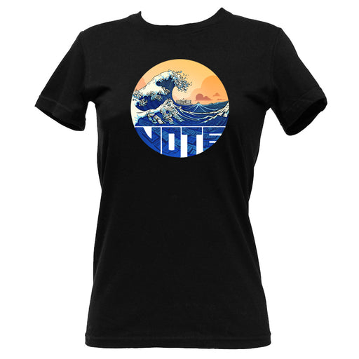 Blue-nami T-Shirt - Women's