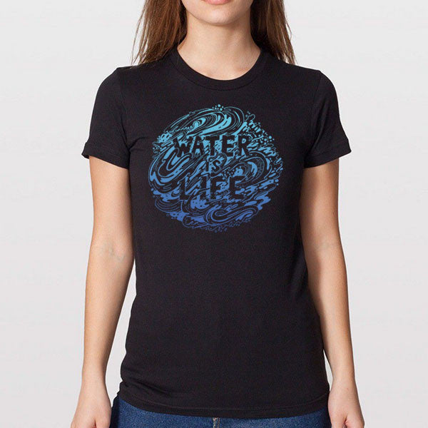 Water Is Life T-Shirt | Women's T-shirts | Shop TYT