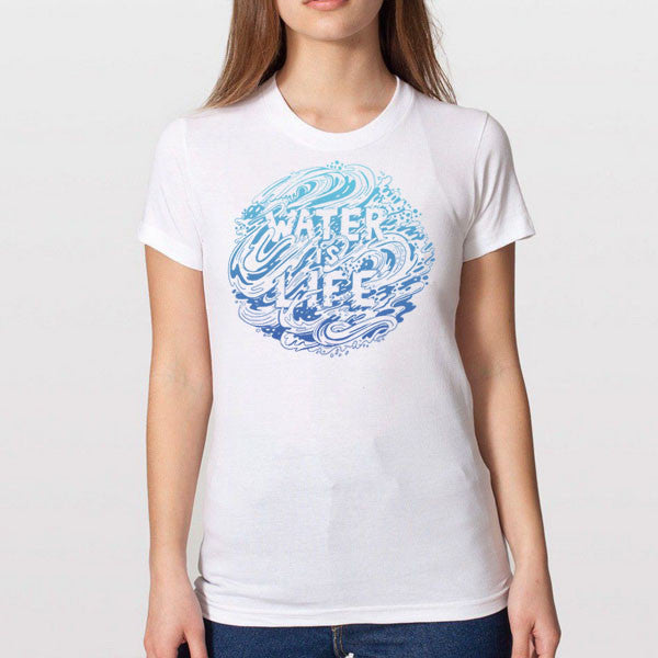 Water Is Life T-Shirt | Women's T-shirts