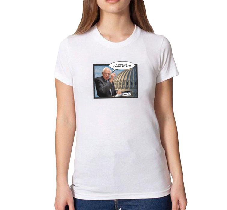 Bernie Damn Bill T-Shirt - Women's