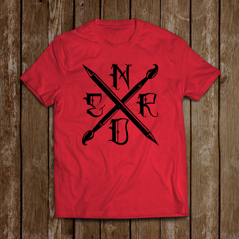 Art Nerd Red Edition T-Shirt