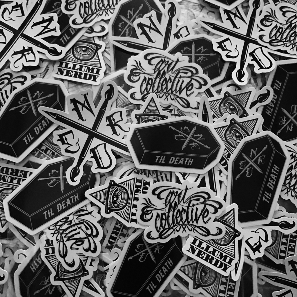 Art Collective Sticker Pack