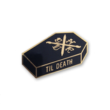 Art Nerd Til Death Enamel Pin