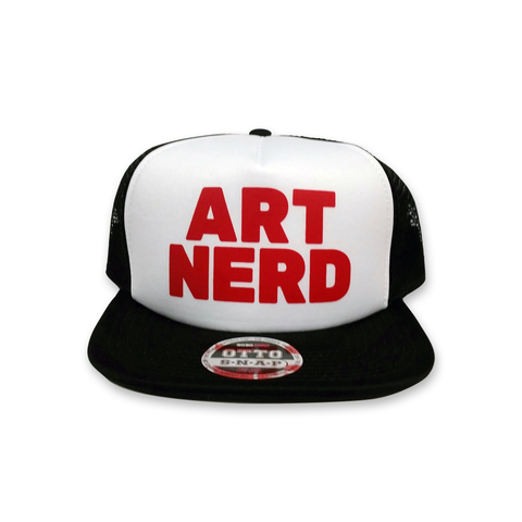 Art Nerd Block Trucker Hat