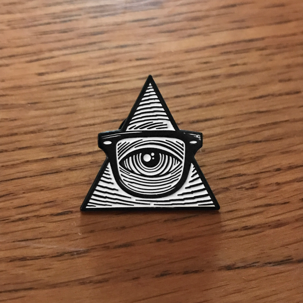 Illuminerdy Enamel Pin