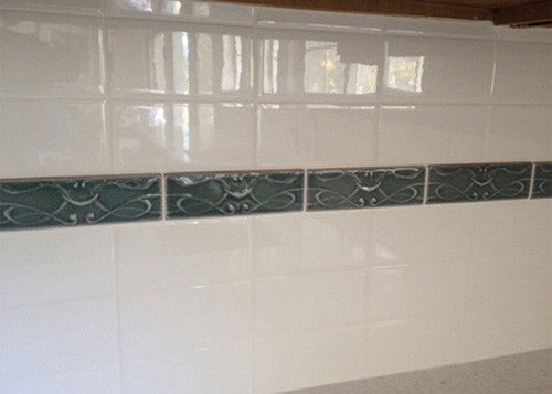 Kitchen ceramic tile