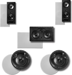 5.0 In-Wall and In-Ceiling Speaker Systems
