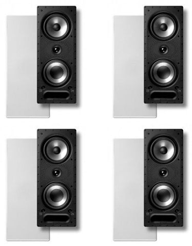 Polk Audio 265rt In-wall Speaker Package (Bundle of 4) - Super Electronics Warehouse