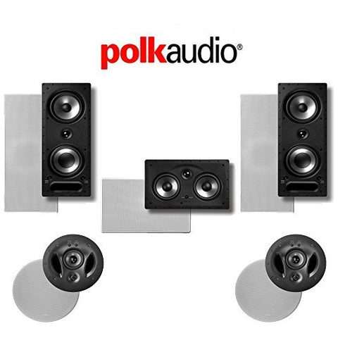 Polk Audio 900LS 5.0-Ch Vanishing Series In-Wall / In-Ceiling Home Theater Speaker System (900-LS + 255C-RT + 265-RT)