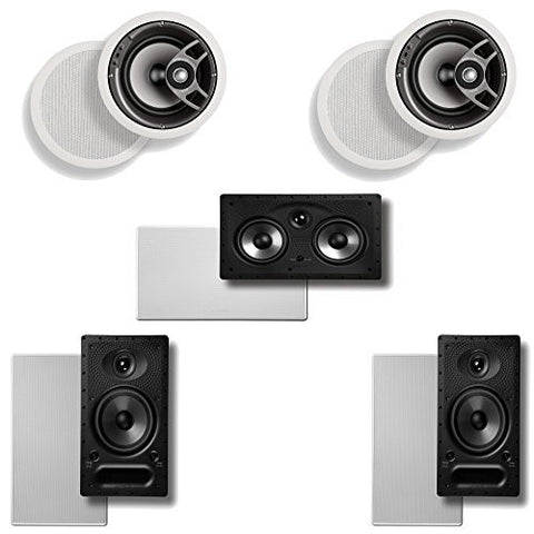 Polk Audio 5.0 In-Ceiling Home Theater Speaker System - Super Electronics Warehouse