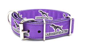 "Canine Athletes Grape Purple Heavy Duty 1.5"" Working Dog Collar"