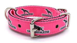 "Canine Athletes Hot Pink Heavy Duty 1"" Working Dog Collar Collars canine-athletes"