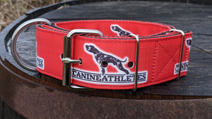 "Canine Athletes Red Heavy Duty 2"" Working Dog Collar"