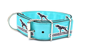 "Canine Athletes Turquoise Heavy Duty 2"" Working Dog Collar Collars canine-athletes"