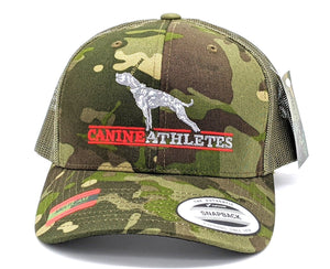 Canine Athletes Flexfit® Multicam® Tropic Camo Snapback Trucker Hat Hats canine-athletes