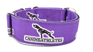 "Canine Athletes Grape Purple Heavy Duty 2"" Working Dog Collar"