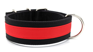 "Canine Athletes Black/Red 2"" Elite-HD Working Dog Collar Collars canine-athletes"