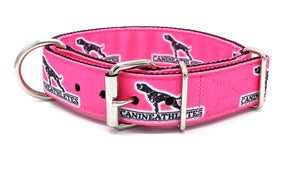 "Canine Athletes Hot Pink Heavy Duty 1.5"" Working Dog Collar"