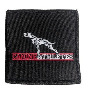 "Canine Athletes Embroidered Canvas Patch - 3"" X 3"""