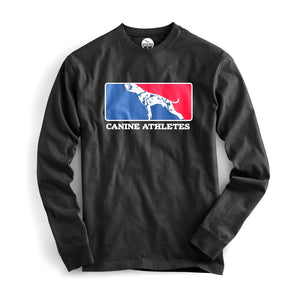 Canine Athletes Major League Long Sleeve Shirt Shirts canine-athletes