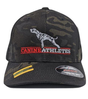 Canine Athletes multicam black camo hat