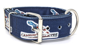 "Canine Athletes Navy USA Heavy Duty 2"" Working Dog Collar Collars canine-athletes"