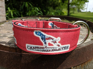 "Canine Athletes Red USA Heavy Duty 2"" Working Dog Collar Collars canine-athletes"
