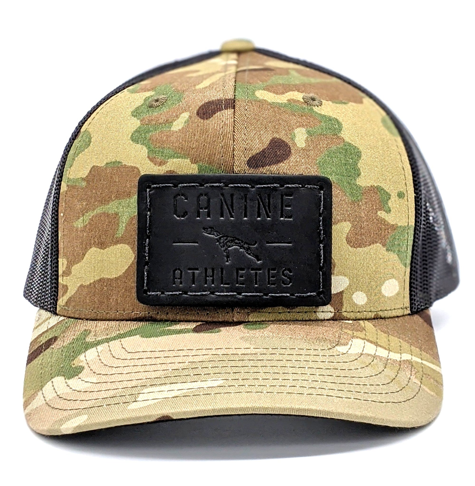 Canine Athletes Leather Patch Hat