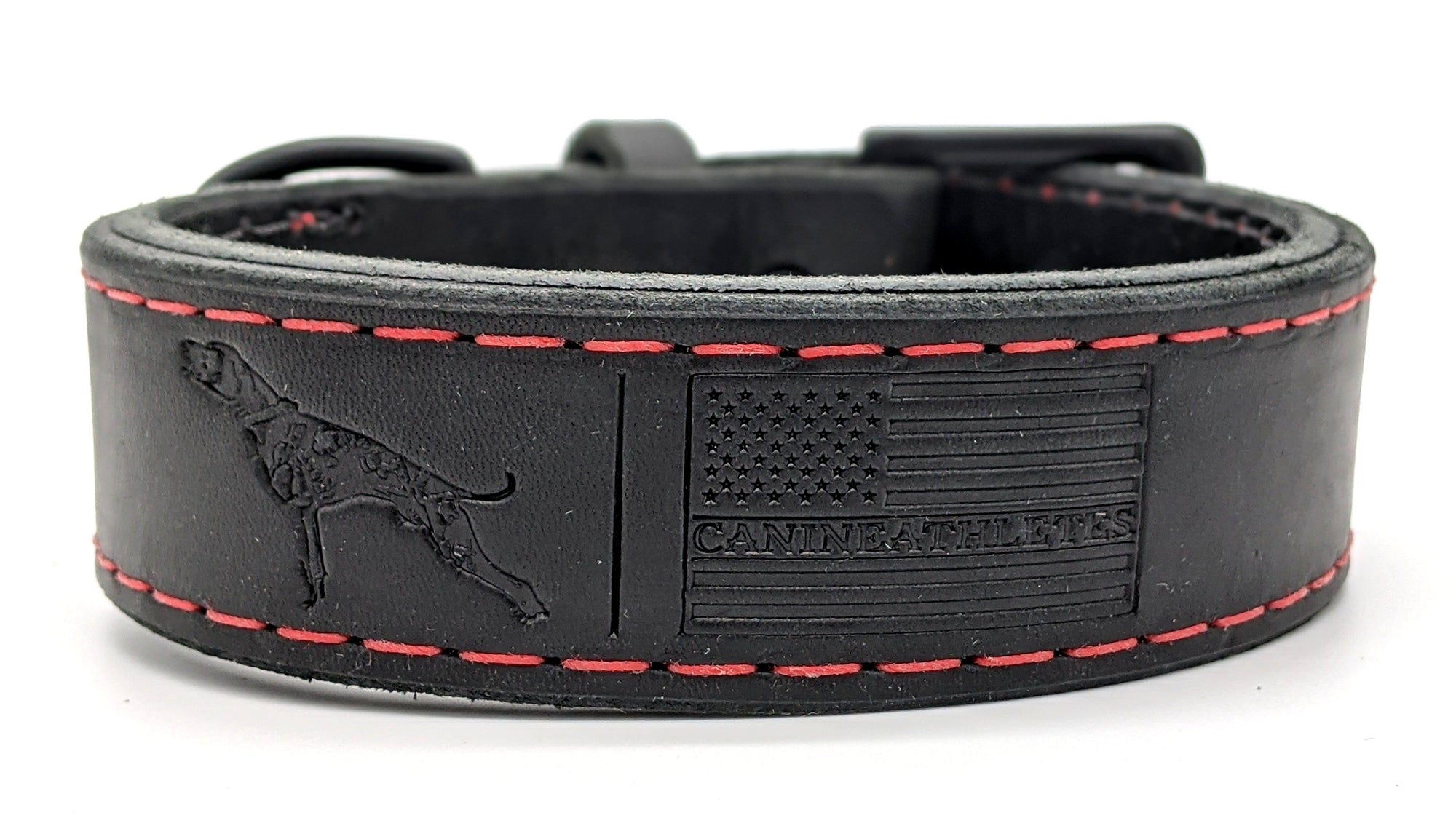 Canine Athletes Leather Collar