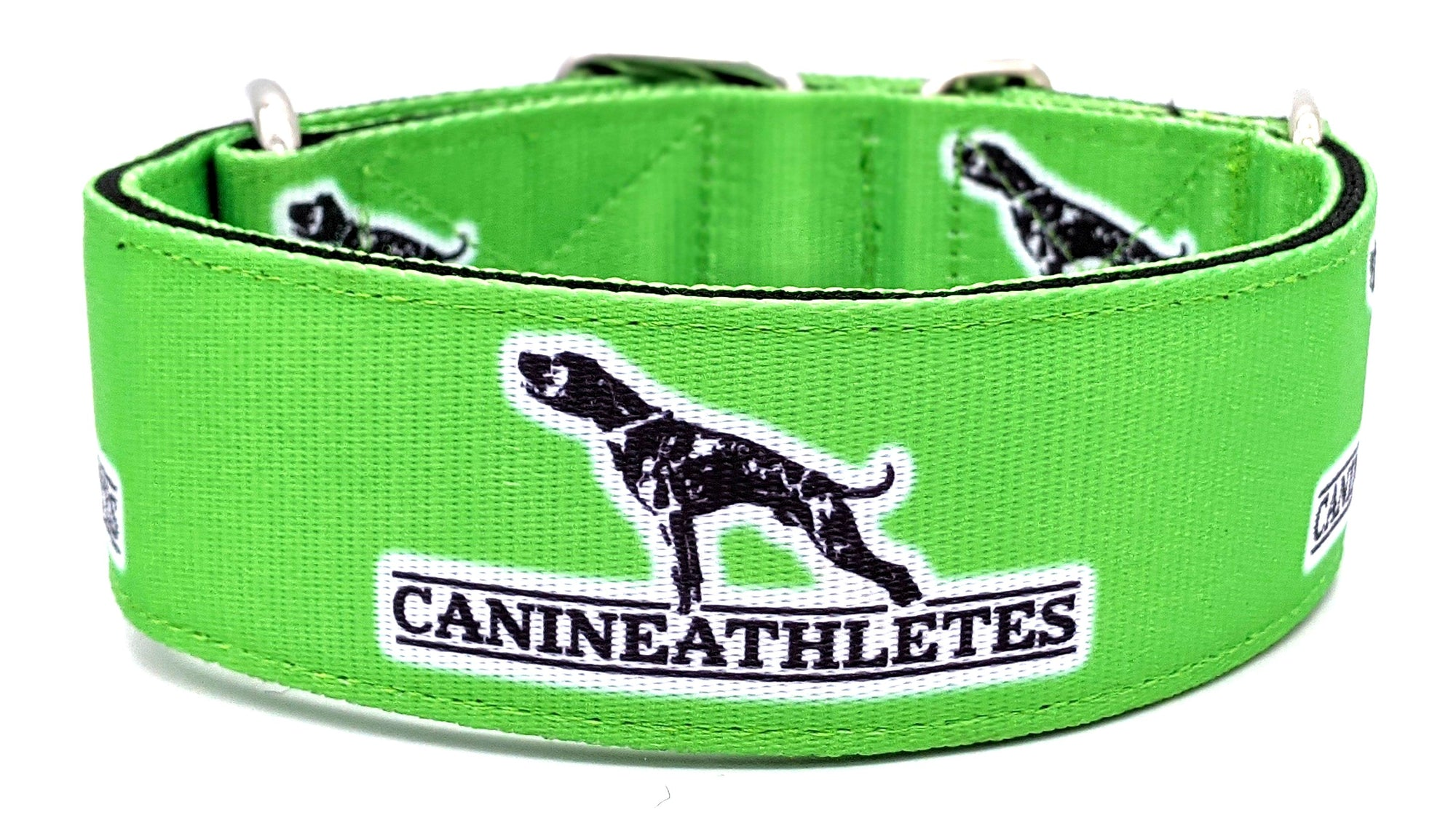 "Canine Athletes Lime Green 2"" Dog Collar"
