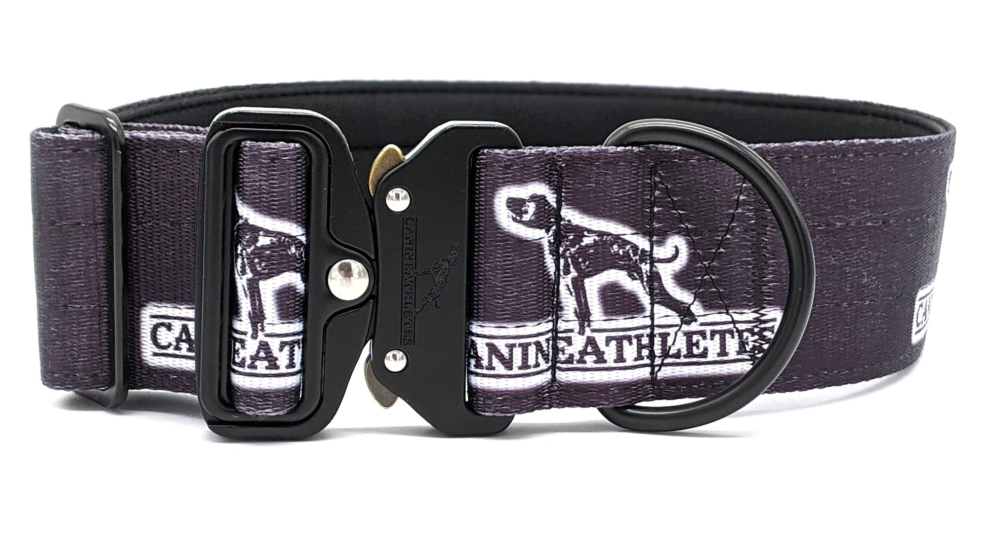 "Canine Athletes Black 2"" Sport-HD Working Dog Collar"