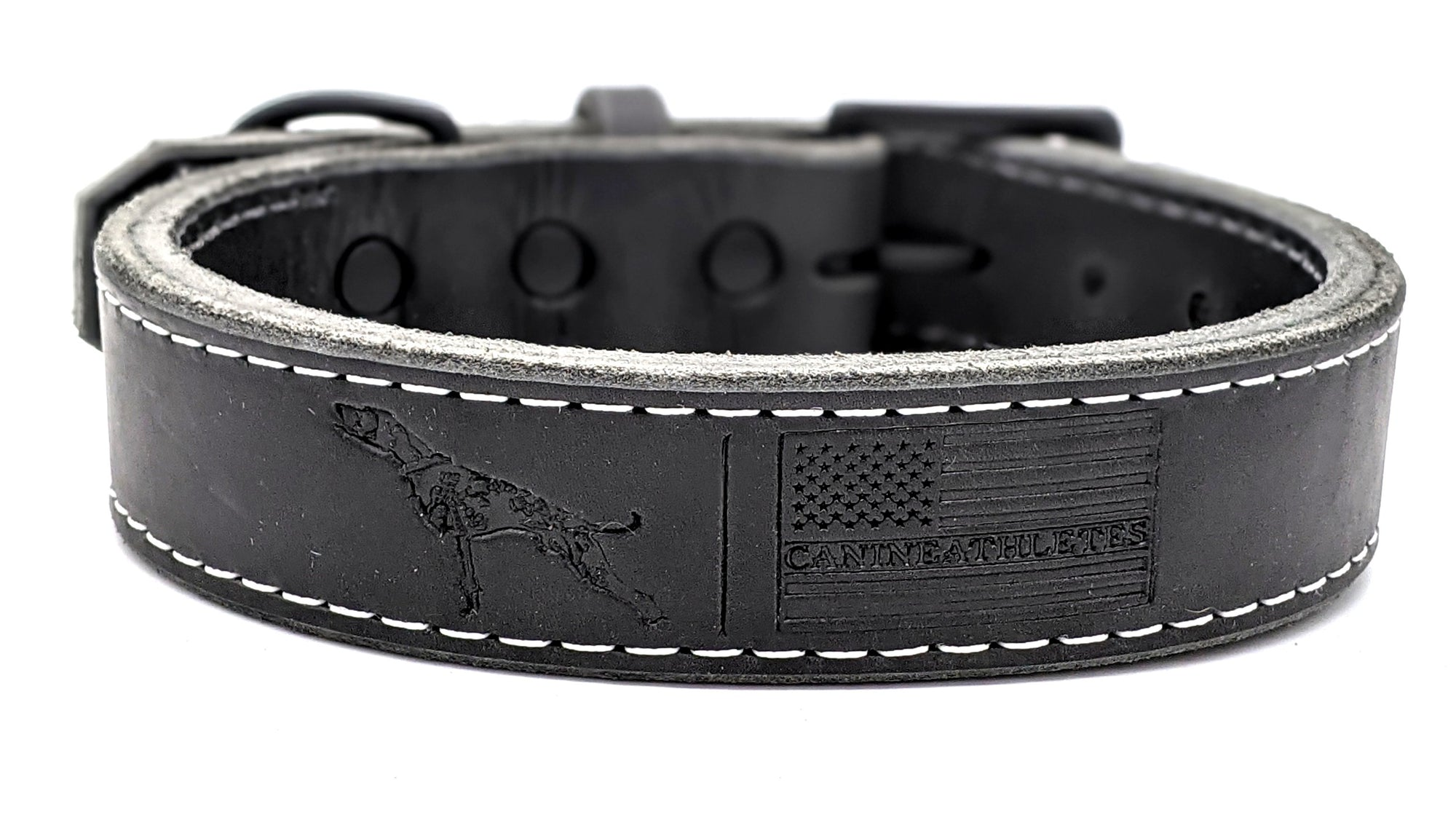 Canine Athletes x TGR Leather Collar