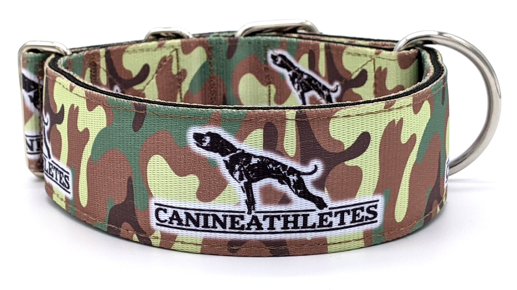 "Canine Athletes Camo 2"" Dog Collar"