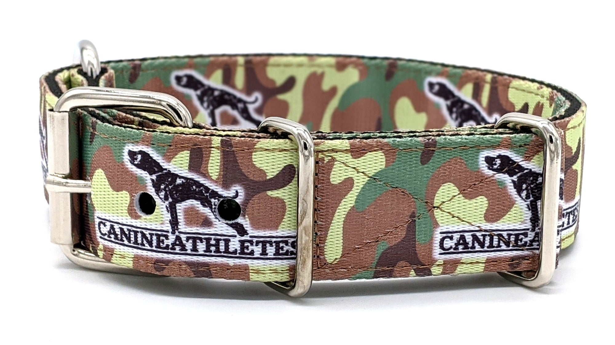 "Canine Athletes 1.5"" Camo Dog Collar"