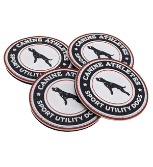 Canine Athletes Sport Utility Dogs PVC Patch