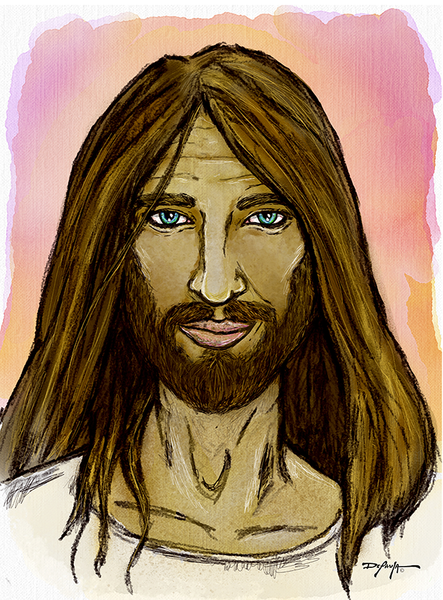 Easter Jesus Christ Bible Fine Art Canvas Print